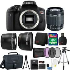 Canon EOS Rebel T6i DSLR Camera w/ 18-55mm Lens , Canon Case & Accessory Kit