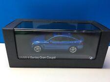 BMW Serie 4 f36 435i Gran Coupe 2014 1:43 kyosho Azul estoril blue