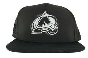 adidas Colorado Avalanche Veteran's Day Flat Brim Snapback Adjustable Hat