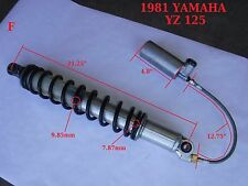 YAMAHA 1981 YZ 125 orig. rebuilt MONOSHOCK with adjustable remote reservoir