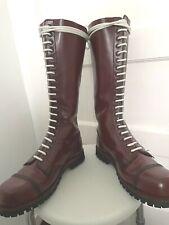 20 Hole Undergound Cherry Red Rangers Boots Size Men's Uk 7 eu 41