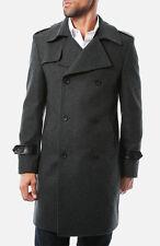 $400 7Diamonds 'Arezzo' Wool Blend Coat Size M