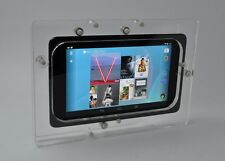 Nexus 7 2012 Clear VESA Case w Wall Mount Kit for Kiosk, POS, Store Show Display