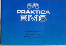 Carl Zeiss Jena Bedienungsanleitung für Praktica BMS #su