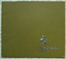 FERRARI MONDIAL 3.2 Sports Car LF Sales Brochure 1987 #N.402/85