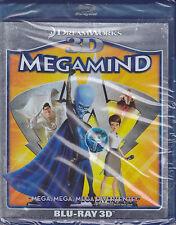 Blu-ray 3D + 2D DreamWorks **MEGAMIND** nuovo 2010