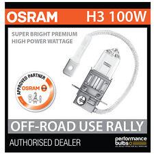 ! nuevo! 62201SBP Osram H3 100W Super brillante Bombilla PREMIUM Off-Road Rally (x1)