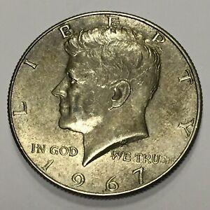 1967 P Kennedy Half Dollar 40% Silver JV1