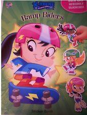 X-TREME SPORTS GIRLS 'RAMP RIDERS' REUSABLE STICKER BOOK NEW!!