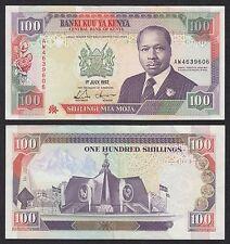 Kenya  100 Shilingi  1-7-1992  Pick 27e   SC- = AU