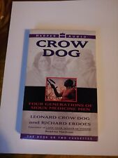 audiobooks on cassette CROW DOG played1x&stored