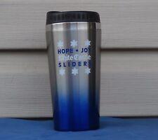 New White Castle Coffee Travel Mug with Lid Holiday Hope Joy Sliders
