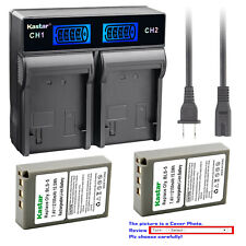 Kastar Battery LCD Rapid Charger for Olympus BLS-5 & Olympus E-PM1 EPM1 Camera
