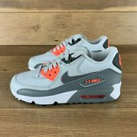 NIKE AIR MAX 90 LTR GS PURE PLATINUM COOL GREY 833376-006 SIZE 4 YOUTH BIG KIDS