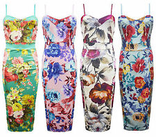 Stretch, Bodycon Regular Floral Casual Dresses for Women