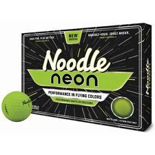 New TaylorMade Noodle Neon Green Golf Balls - 1 Dozen NIB