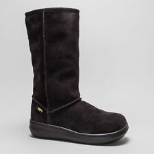 Wedge Patternless Pull On Casual Boots for Women