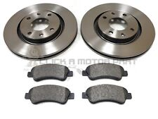 PEUGEOT 207 1.4 & 1.4 HDi FRONT 266MM BRAKE DISCS AND MINTEX PADS NEW