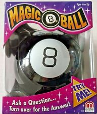 Mattel Games Magic 8 Ball Classic Edition Ask a Question..Turn for the Answer