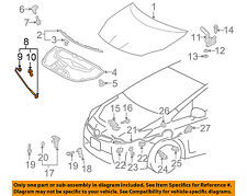 TOYOTA OEM 10-15 Prius Hood-Support Prop Rod 5344047031