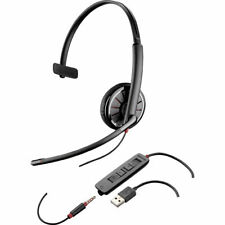 NEW Genuine Plantronics Blackwire C315.1-M Mono USB Headset 204440-01