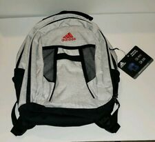 ADIDAS Atkins Backpack Boys Girls Children Youth School Bag White Gray Black New