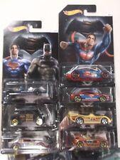 2016 Hot Wheels Batman V Superman Dawn Of Justice Complete Set of 7