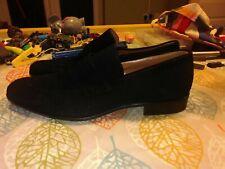 Moreschi Men/'s Black Leather Moccasin 039948 New in Box