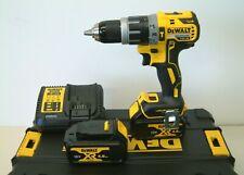 DEWALT DCD796M2 18v XR Brushless Combi Drill 4Ah Batteries Charger in T-Stak
