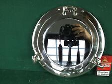 Bullauge Spiegel Vernickelt Glanz Poliert Klappbar Schiffs Fenster Wandspiegel