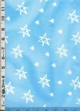Fabric Nicoll STAR OF DAVID  JUDAICA light blue NEW!