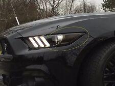 2015/2016/2017 Mustang [HACT]Amber Marker Tint-20% Smoke-Fits ALL Eco/V6/GT Cars