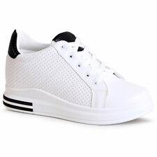 Zapatos Mujer Cuña Zapatillas Plataformas Ocultas de Deporte y Ocio Moda
