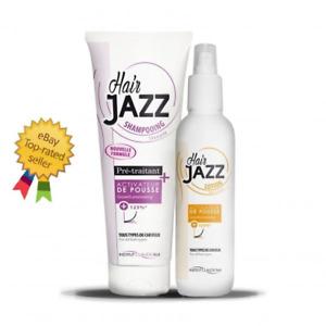 BEST PRICE! HAIR JAZZ MINI SET - SHAMPOO 250ml + LOTION 200ml FAST HAIR GROWTH