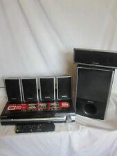 Sony HCD-DZ360WA DVD receptor, control remoto y los altavoces de sonido envolvente