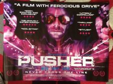 PUSHER ORIGINAL UK QUAD POSTER  Nicolas Winding Refn Orbital