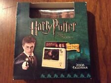 Harry Potter And The Order Of The Phoenix Desk Calendar 2008