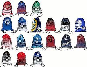 SCHOOL FOOTBALL SPORTS DRAWSTRING GYM - SHOE PUMP BOOT BAG KIT SWIM BAG