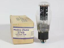 Western Electric 274B Rectifier Vacuum Tube Vintage 1942 NOS w/ Engraved Base