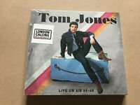 LIVE ON AIR 65 - 68  by TOM JONES  Compact Disc Double  LC2CD5035 Rare tracks