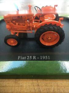Hachette Fiat 25R Tractor 1951 Scale 1:43