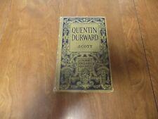Longman's English Classics QUENTIN DURWARD Sir Walter Scott (1910,HC)