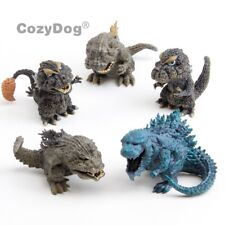 5pcs/set Godzilla Action Figures King of the Monster PVC Model Doll Classic Toys