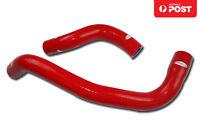 For Nissan Skyline GTR R33 R34 RB25/26DETT Silicone Radiator Hose Kit Red