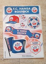 Hansa Rostock Aufkleber Sammlung Auflösung Suptras Ultras Fanatics HRO Nr.5