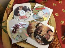 Lot Of 4 DVDs / DISCS ONLY / NO CASES Castaway/Fugitive/Kramer & Mission Imposs