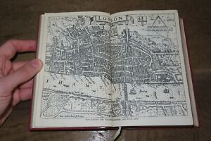 1917 THE SURVEY OF LONDON 1603 by JOHN STOW 1 MAP HISTORY TOPOGRAPHY  @