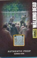 Walking Dead Season 4 Part 1 Wardrobe Card M11 Authentic Barbed Wire Prop