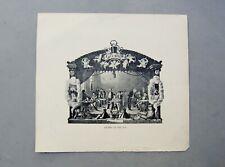 Berkeley Association of Yale 1906 Meeting Program Engraved Print Antique Humor
