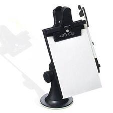 Zento Deals Car Vehicle Auto Note Memo Pad Clip Board Suction Cups Window Holder